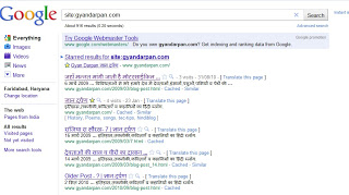 गूगल केच से पायें खोया ब्लॉग विजेट